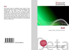 Bookcover of RoK