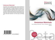 Venomous Mammals的封面