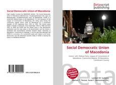 Copertina di Social Democratic Union of Macedonia