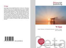 Bookcover of Yi Gae