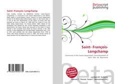 Bookcover of Saint- François- Longchamp