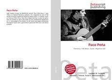 Bookcover of Paco Peña