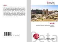 Buchcover von Aftah