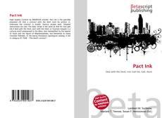 Buchcover von Pact Ink