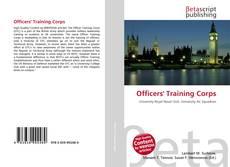 Capa do livro de Officers' Training Corps