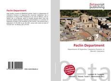 Paclín Department kitap kapağı