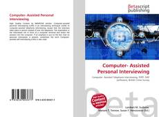 Bookcover of Computer- Assisted Personal Interviewing