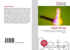 Bookcover of Faisal I of Iraq