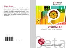 Portada del libro de Officer Merkel