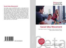 Bookcover of Social Idea Movement