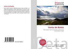 Bookcover of Venta de Baños