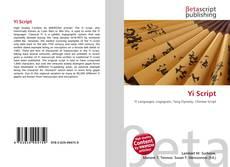 Buchcover von Yi Script