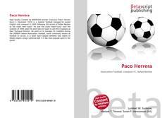 Bookcover of Paco Herrera
