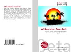 Copertina di Afrikanisches Rosenholz