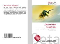 Borítókép a  Afrikanisierte Honigbiene - hoz