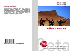 Couverture de Officer Candidate