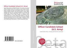 Couverture de Officer Candidate School (U.S. Army)