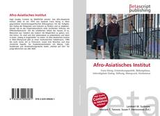 Buchcover von Afro-Asiatisches Institut