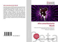 Portada del libro de Afro-amerikanische Musik