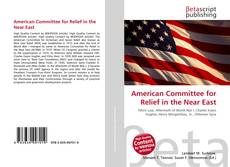 Bookcover of American Committee for Relief in the Near East