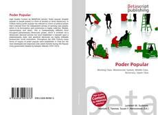 Bookcover of Poder Popular