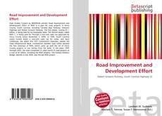 Portada del libro de Road Improvement and Development Effort