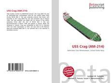 Bookcover of USS Crag (AM-214)