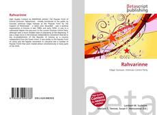 Bookcover of Rahvarinne
