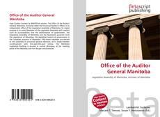 Portada del libro de Office of the Auditor General Manitoba