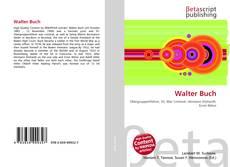 Buchcover von Walter Buch