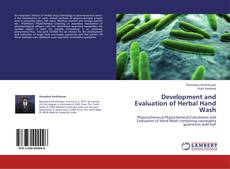 Copertina di Development and Evaluation of Herbal Hand Wash