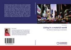 Portada del libro de Living in a material world