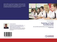 Bookcover of Training of Field Functionaries