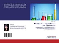 Bookcover of Molecular Analysis of Gene Markers in Urine