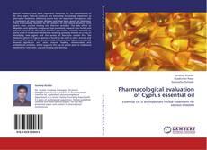Capa do livro de Pharmacological evaluation of Cyprus essential oil