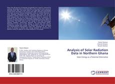 Portada del libro de Analysis of Solar Radiation Data in Northern Ghana