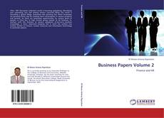 Bookcover of Business Papers Volume 2