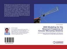 Capa do livro de ANN Modeling for the Resonant Frequency of Circular Microstrip Antenna