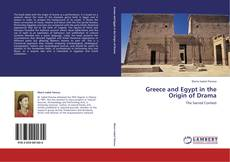 Bookcover of Greece and Egypt in the Origin of Drama