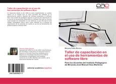 Portada del libro de Taller de capacitación en el uso de herramientas de software libre