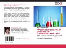 Bookcover of Ambiente redox salival en pacientes con enfermedad periodontal