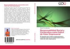 Capa do livro de Responsabilidad Social y Corporativa como Índice de Valor Empresarial