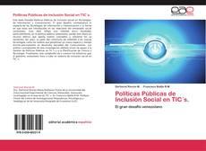 Portada del libro de Políticas Públicas de Inclusión Social en TIC´s.