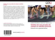 Capa do livro de Validez de una prueba de campo en adultos jóvenes