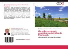 Portada del libro de Caracterización de especies medicinales de Plantago L.