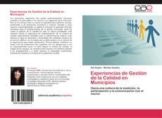Borítókép a  Experiencias de Gestión de la Calidad en Municipios - hoz