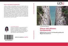Buchcover von Hacer del abismo fundamento.