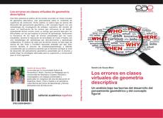 Bookcover of Los errores en clases virtuales de geometría descriptiva