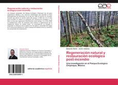 Capa do livro de Regeneración natural y restauración ecológica post-incendio