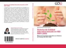 Bookcover of Sistema de Calidad educativa basado en ISO 9001:2000